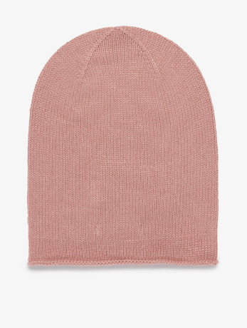 pieces-frauen-beanie-pcroese-cashmere-in-rosa