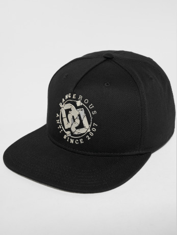 dangerous-dngrs-manner-snapback-cap-doubled-in-schwarz