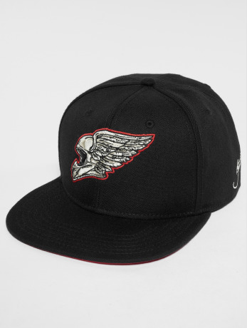 dangerous-dngrs-manner-snapback-cap-romain-in-schwarz