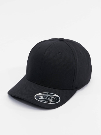 flexfit-manner-frauen-snapback-cap-110-pro-formance-in-schwarz