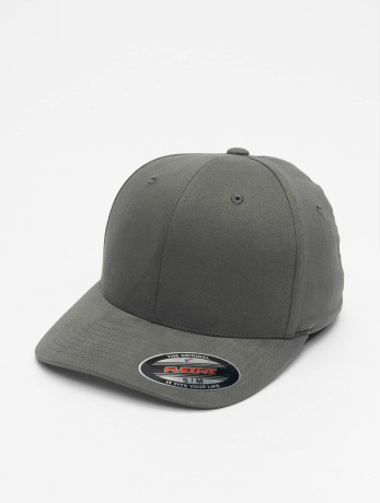 flexfit-manner-frauen-sport-flexfitted-cap-twill-brushed-in-grau