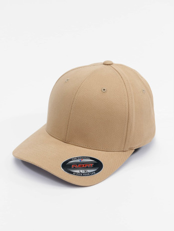 flexfit-manner-frauen-sport-flexfitted-cap-twill-brushed-in-khaki