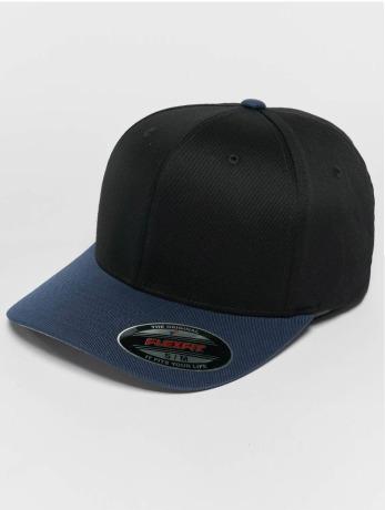 flexfit-manner-frauen-flexfitted-cap-2-tone-wooly-combed-in-schwarz