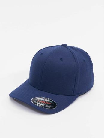 flexfit-manner-frauen-flexfitted-cap-wool-blend-in-blau