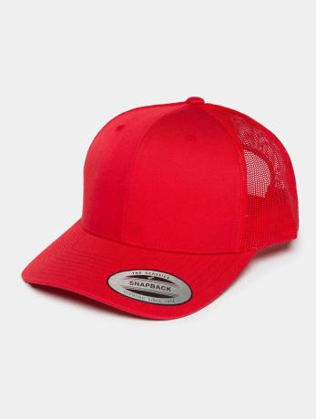 flexfit-manner-frauen-kinder-snapback-cap-classic-in-rot