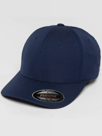flexfit-manner-frauen-flexfitted-cap-hydro-grid-in-blau