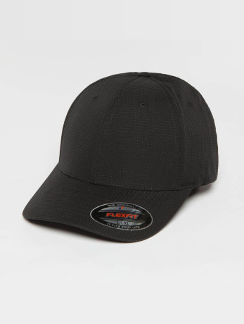flexfit-manner-frauen-flexfitted-cap-hydro-grid-in-schwarz