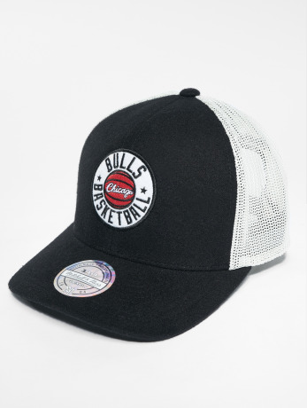 mitchell-ness-manner-frauen-trucker-cap-hwc-chicago-bulls-in-schwarz