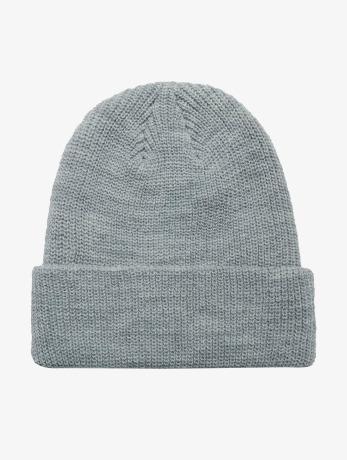 flexfit-manner-frauen-beanie-long-knit-in-grau