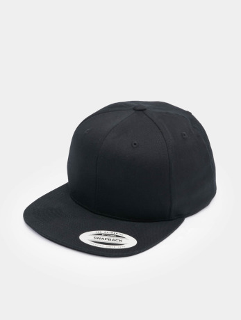 flexfit-manner-frauen-snapback-cap-organic-cotton-in-schwarz
