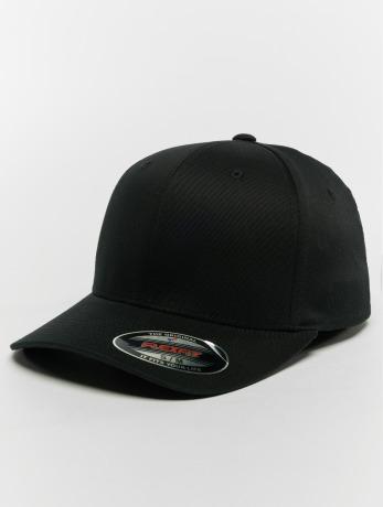 flexfit-manner-frauen-flexfitted-cap-organic-cotton-in-schwarz