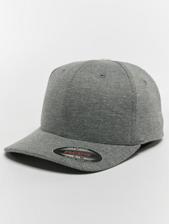 flexfit-manner-frauen-flexfitted-cap-pique-dots-in-grau