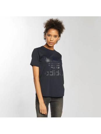 adidas-t-shirt Trefoil in blauw