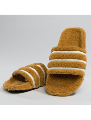 adidas-Slipper-Sandaal Adilette in bruin