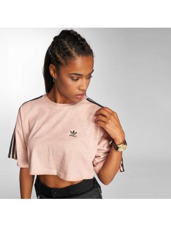 adidas originals-t-shirt Boxy in rose