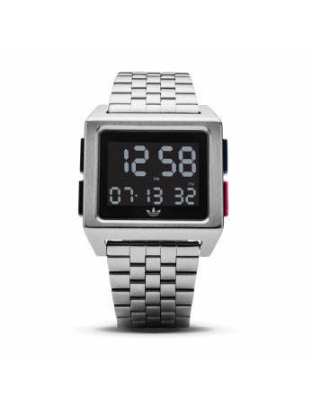 Adidas Watches-horloge Archive M1 in zilver