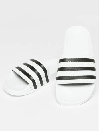 adidas originals-Slipper-Sandaal Stripy in wit