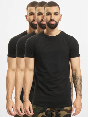 def-manner-t-shirt-weary-3er-pack-in-schwarz