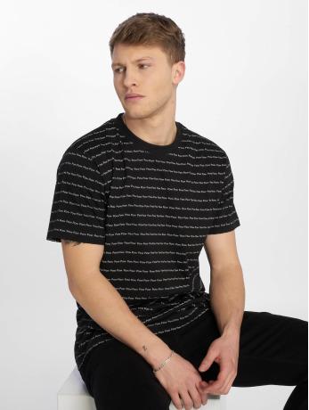 mister-tee-manner-t-shirt-pow-pow-in-schwarz