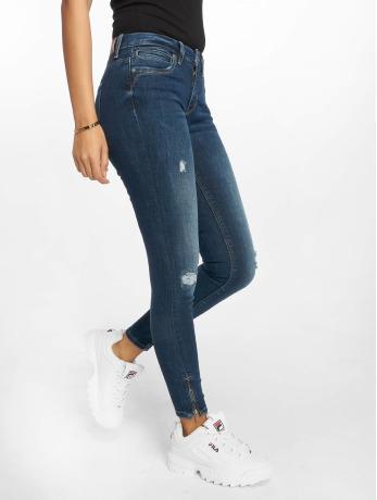 only-frauen-skinny-jeans-onlkendell-in-blau