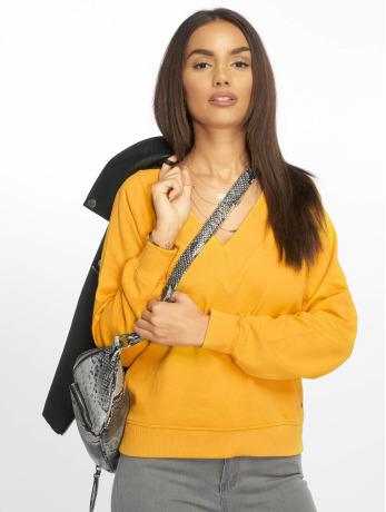 only-frauen-pullover-onlfrosemary-in-gelb