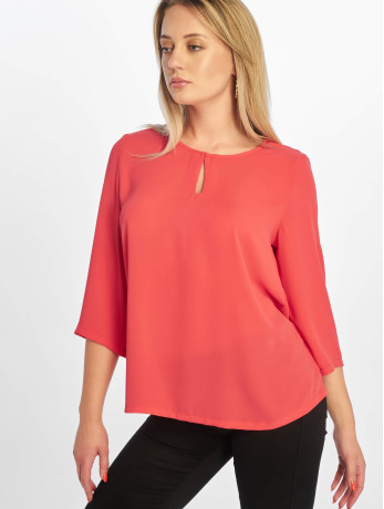 only-frauen-bluse-onlfagnes-life-3-4-woven-in-rot