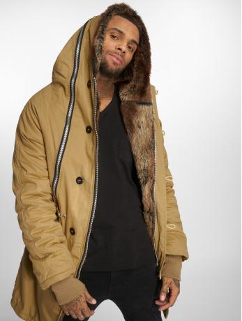 vsct-clubwear-manner-parka-double-zipper-huge-luxury-in-braun