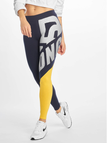 dangerous-dngrs-frauen-legging-brick-in-blau