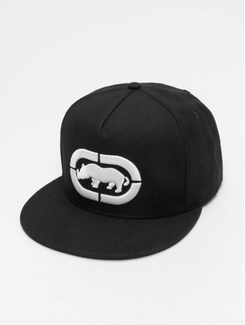 ecko-unltd-manner-frauen-snapback-cap-base-in-schwarz