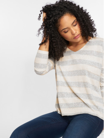 only-frauen-pullover-onlmaye-in-grau