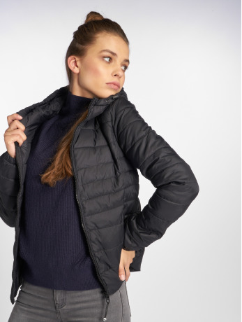 only-frauen-puffer-jacket-onltahoe-in-schwarz