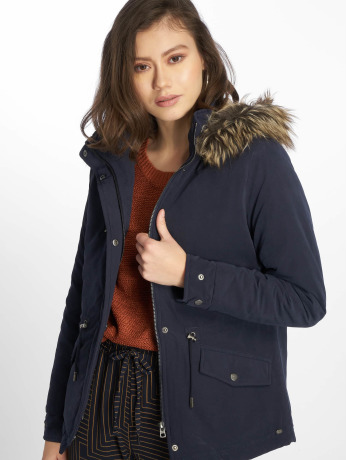 only-frauen-winterjacke-onlnew-starlight-in-blau