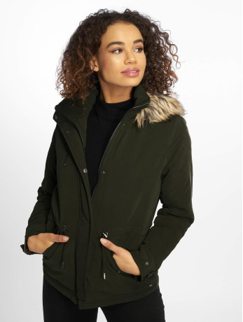 only-frauen-winterjacke-onlnew-starlight-in-olive