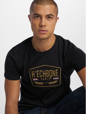 hechbone-manner-t-shirt-stitch-in-schwarz
