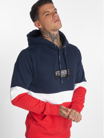 hechbone-manner-hoody-colorblock-in-blau
