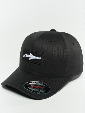 illmatic-manner-frauen-flexfitted-cap-inbox-in-schwarz