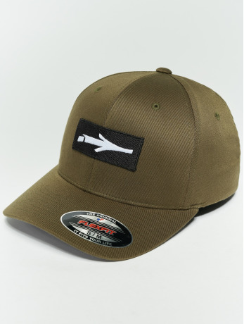 illmatic-manner-frauen-flexfitted-cap-inbox-in-olive