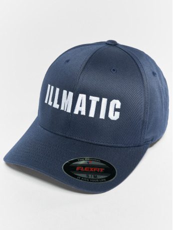 illmatic-manner-frauen-flexfitted-cap-inface-in-blau
