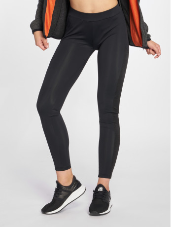 urban-classics-frauen-legging-jacquard-camo-striped-in-schwarz