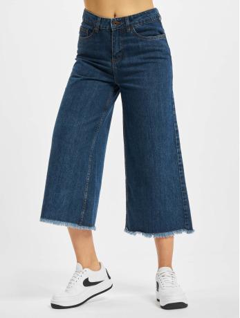 urban-classics-frauen-loose-fit-jeans-denim-in-blau