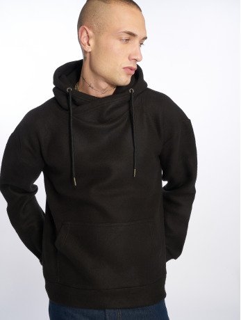 urban-classics-manner-hoody-polar-fleece-in-schwarz