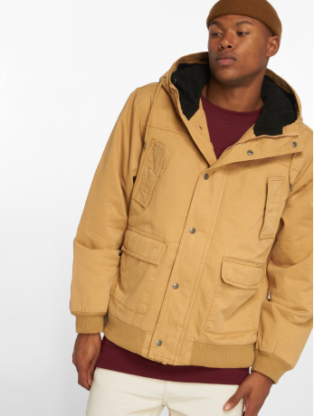 urban-classics-manner-winterjacke-hooded-cotton-in-braun