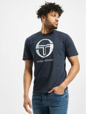 sergio-tacchini-manner-t-shirt-elbow-in-blau