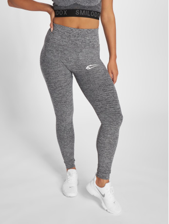 smilodox-frauen-legging-yura-high-waist-in-grau