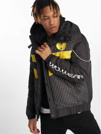 wu-tang-manner-puffer-jacket-puffer-in-schwarz