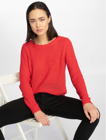 only-frauen-pullover-onlgeena-in-rot