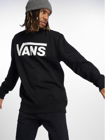 vans-manner-pullover-classic-logo-in-schwarz