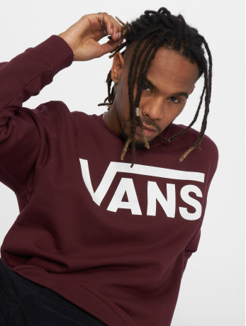 vans-manner-pullover-classic-logo-in-rot