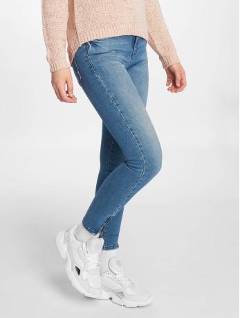 noisy-may-frauen-skinny-jeans-nmkimmy-in-blau
