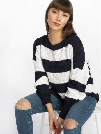 only-frauen-pullover-onlcampos-in-blau